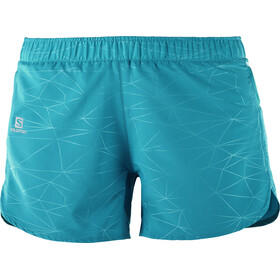 Salomon Trail Runner Shorts Women enamel blue
